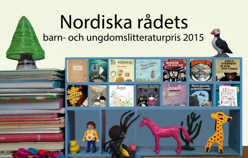Ella nomineret til Nordisk Råds børne- og ungdomslitteraturpris 2015