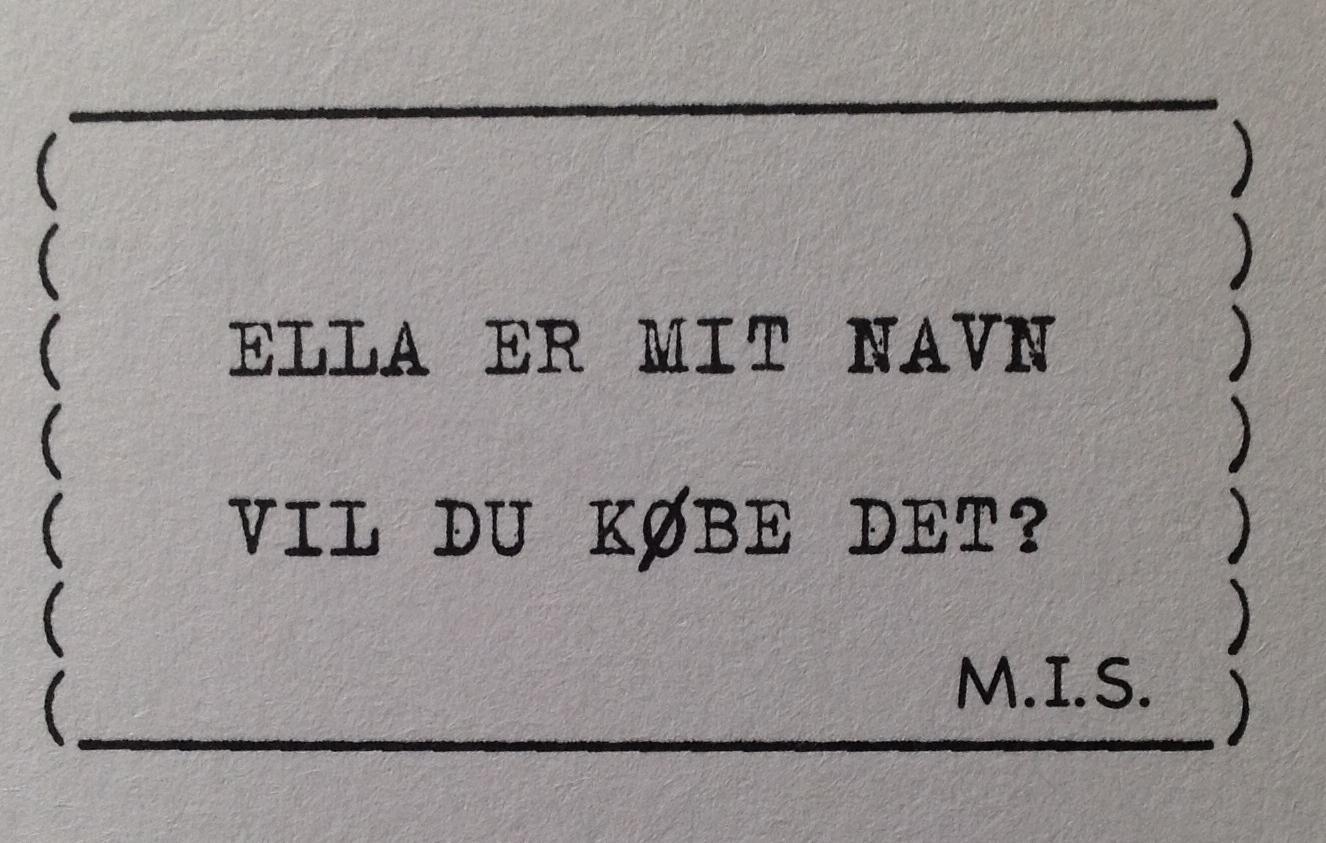 M.I.S. MÅ IKKE SLETTES